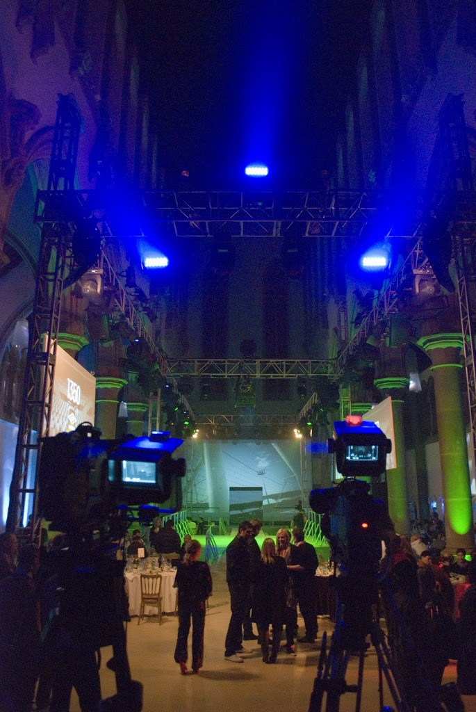 Umbro Sports Fashion Launch at Gorton Monastery