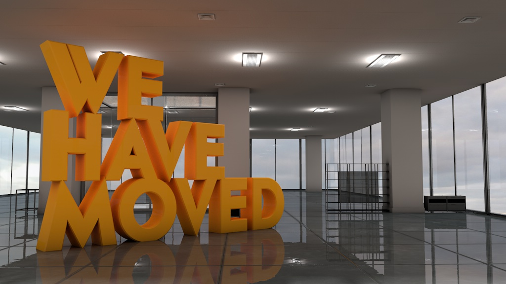 We Have Moved Offices – Again!