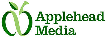 Applehead Media Logo Design