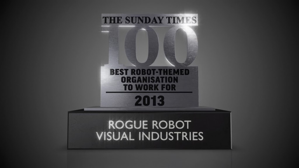 The Sunday Times Rogue Robot Visual Industries