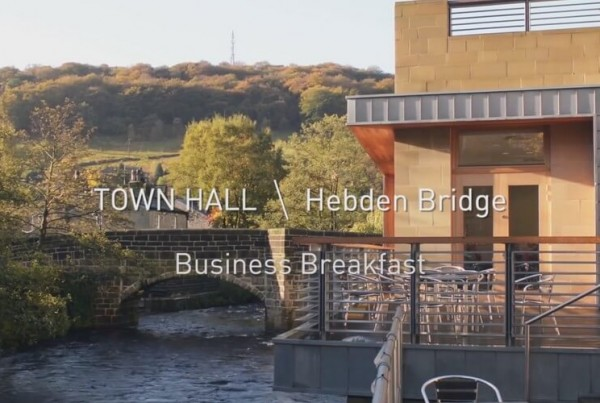 Hebden Bridge Town Hall – Business Breakfast Promo