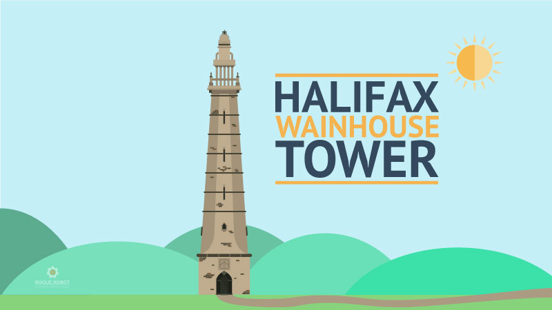 Wainhouse Tower Halifax Illustration