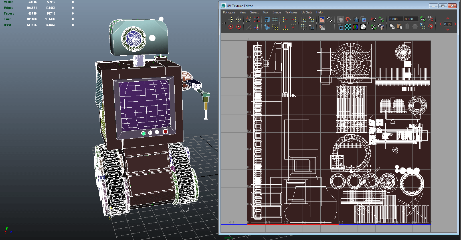 Rogue Robot Origins Maya Robot Model