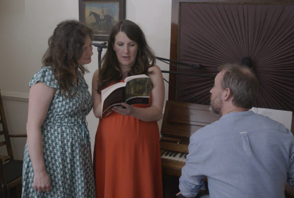 The Unthanks recording their album in Bronte Parsonage.