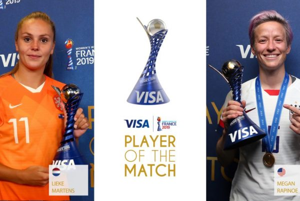 Visa FWWC 2019 - Player of Match stings